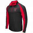 "Texas Tech Red Raiders NCAA ""Peterman"" 1/4 Zip Pullover Men's Wind Shirt"