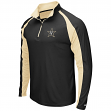 "Vanderbilt Commodores NCAA ""Peterman"" 1/4 Zip Pullover Men's Wind Shirt"