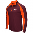 "Virginia Tech Hokies NCAA ""Peterman"" 1/4 Zip Pullover Men's Wind Shirt"