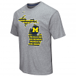 "Michigan Wolverines NCAA ""Yada Yada Yada"" Men's Short Sleeve T-Shirt"
