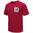 "Alabama Crimson Tide NCAA ""Banya"" Men's Dual Blend S/S Pocket T-Shirt"