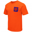 "Clemson Tigers NCAA ""Banya"" Men's Dual Blend S/S Pocket T-Shirt"