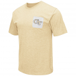 "Georgia Tech Yellowjackets NCAA ""Banya"" Men's Dual Blend S/S Pocket T-Shirt"