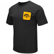 "Iowa Hawkeyes NCAA ""Banya"" Men's Dual Blend S/S Pocket T-Shirt"