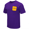 "LSU Tigers NCAA ""Banya"" Men's Dual Blend S/S Pocket T-Shirt"