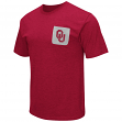 "Oklahoma Sooners NCAA ""Banya"" Men's Dual Blend S/S Pocket T-Shirt"