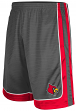 "Louisville Cardinals NCAA ""Big Shot"" Men's Training Shorts - Charcoal"