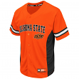 "Oklahoma State Cowboys NCAA ""Strike Zone"" Men's Button Up Baseball Jersey"