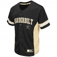 "Vanderbilt Commodores NCAA ""Strike Zone"" Men's Button Up Baseball Jersey"