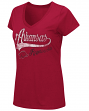 "Arkansas Razorbacks Women's NCAA ""How You Doin'"" Dual Blend V-neck T-Shirt"