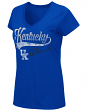 "Kentucky Wildcats Women's NCAA ""How You Doin'"" Dual Blend V-neck T-Shirt"