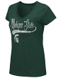 "Michigan State Spartans Women's NCAA ""How You Doin'"" Dual Blend V-neck T-Shirt"
