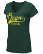 "Oregon Ducks Women's NCAA ""How You Doin'"" Dual Blend V-neck T-Shirt"