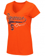 "Syracuse Orange Women's NCAA ""How You Doin'"" Dual Blend V-neck T-Shirt"