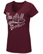 "Texas A&M Aggies Women's NCAA ""How You Doin'"" Dual Blend V-neck T-Shirt"