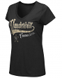 "Vanderbilt Commodores Women's NCAA ""How You Doin'"" Dual Blend V-neck T-Shirt"