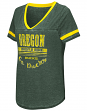 "Oregon Ducks Women's NCAA ""Gunther"" Dual Blend Burn Out T-Shirt"