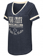 "Penn State Nittany Lions Women's NCAA ""Gunther"" Dual Blend Burn Out T-Shirt"