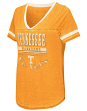 "Tennessee Volunteers Women's NCAA ""Gunther"" Dual Blend Burn Out T-Shirt"