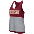 "Florida State Seminoles Women's NCAA ""Red Ross"" Reversible Burn Out Tank Top"