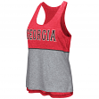 "Georgia Bulldogs Women's NCAA ""Red Ross"" Reversible Burn Out Tank Top"