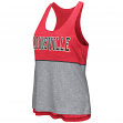 "Louisville Cardinals Women's NCAA ""Red Ross"" Reversible Burn Out Tank Top"