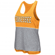 "Tennessee Volunteers Women's NCAA ""Red Ross"" Reversible Burn Out Tank Top"