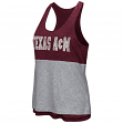 "Texas A&M Aggies Women's NCAA ""Red Ross"" Reversible Burn Out Tank Top"