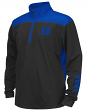 "Duke Blue Devils Youth NCAA ""Vault"" 1/4 Zip Pullover Long Sleeve Wind Shirt"