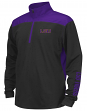 "LSU Tigers Youth NCAA ""Vault"" 1/4 Zip Pullover Long Sleeve Wind Shirt"