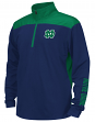 "Notre Dame Fighting Irish Youth ""Vault"" 1/4 Zip Pullover Long Sleeve Wind Shirt"