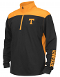 "Tennessee Volunteers Youth NCAA ""Vault"" 1/4 Zip Pullover Long Sleeve Wind Shirt"