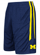 "Michigan Wolverines Youth NCAA ""Sidler"" Performance Training Shorts - Navy"