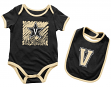 "Vanderbilt Commodores NCAA Infant ""Look at the Baby"" Onesie w/Bib Set"