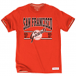 "San Francisco Giants MLB Mitchell & Ness ""Early Innings"" Premium Men's T-Shirt"