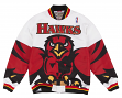 Atlanta Hawks Mitchell & Ness NBA Authentic 95-96 Warmup Premium Jacket - White