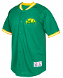 "Seattle Supersonics Mitchell & Ness ""Seasoned Pro"" Men's Button Up Jersey Shirt"