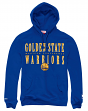 "Golden State Warriors Mitchell & Ness ""Tight Defense"" Pullover Hooded Sweatshirt"
