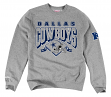 "Dallas Cowboys Mitchell & Ness NFL ""Downfield"" Crew Sweatshirt - Gray"