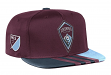 Colorado Rapids Adidas MLS 2017 Authentic Team Performance Snap Back Hat
