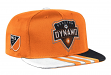 Houston Dynamo Adidas MLS 2017 Authentic Team Performance Snap Back Hat
