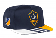 Los Angeles Galaxy Adidas MLS 2017 Authentic Team Performance Snap Back Hat