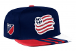 New England Revolution Adidas MLS 2017 Authentic Team Performance Snap Back Hat