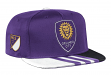 Orlando City SC Adidas MLS 2017 Authentic Team Performance Snap Back Hat