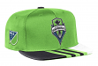 Seattle Sounders Adidas MLS 2017 Authentic Team Performance Snap Back Hat