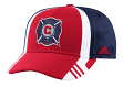 Chicago Fire Adidas MLS 2017 Authentic Team Structured Adjustable Hat