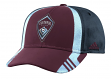 Colorado Rapids Adidas MLS 2017 Authentic Team Structured Adjustable Hat