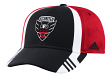 DC United Adidas MLS 2017 Authentic Team Structured Adjustable Hat