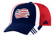 New England Revolution Adidas MLS 2017 Authentic Team Structured Adjustable Hat