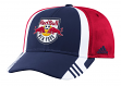 New York Red Bulls Adidas MLS 2017 Authentic Team Structured Adjustable Hat